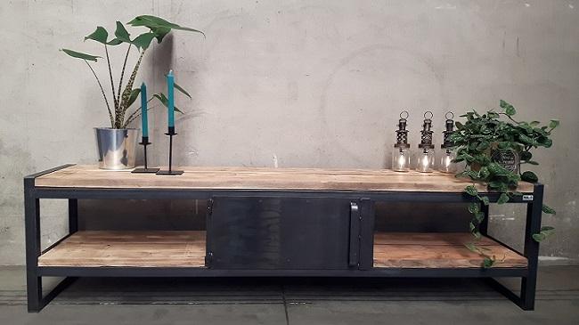 Industriele Meubels Rotterdam : Handmade by hal industriële en robuuste meubels van staal en hout
